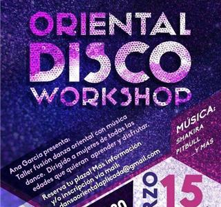 Taller Oriental Disco Workshop