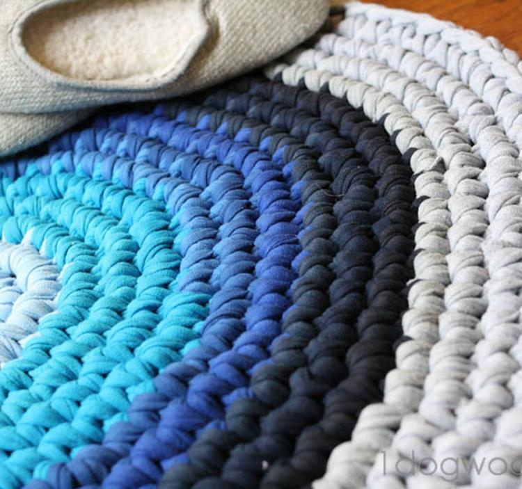 Alfombra de trapillo uolala for Precio de alfombras