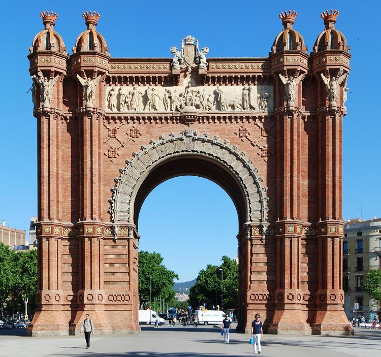Ruta: Arc de triomf y parque de la ciutadella