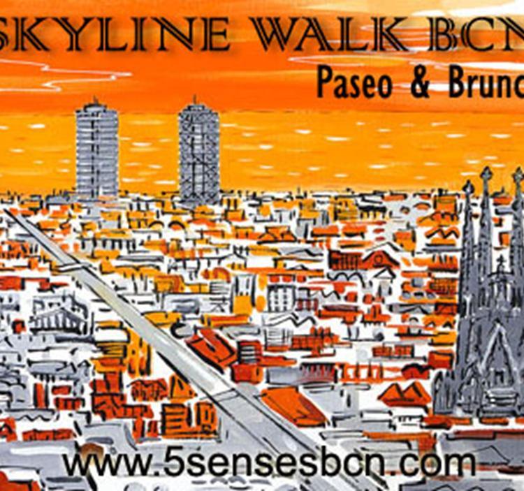 BCN skyline walk. Paseo & Brunch