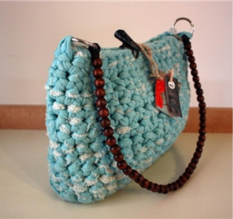 Bolso de trapillo barcelona uolala for Bolsos de crochet de trapillo