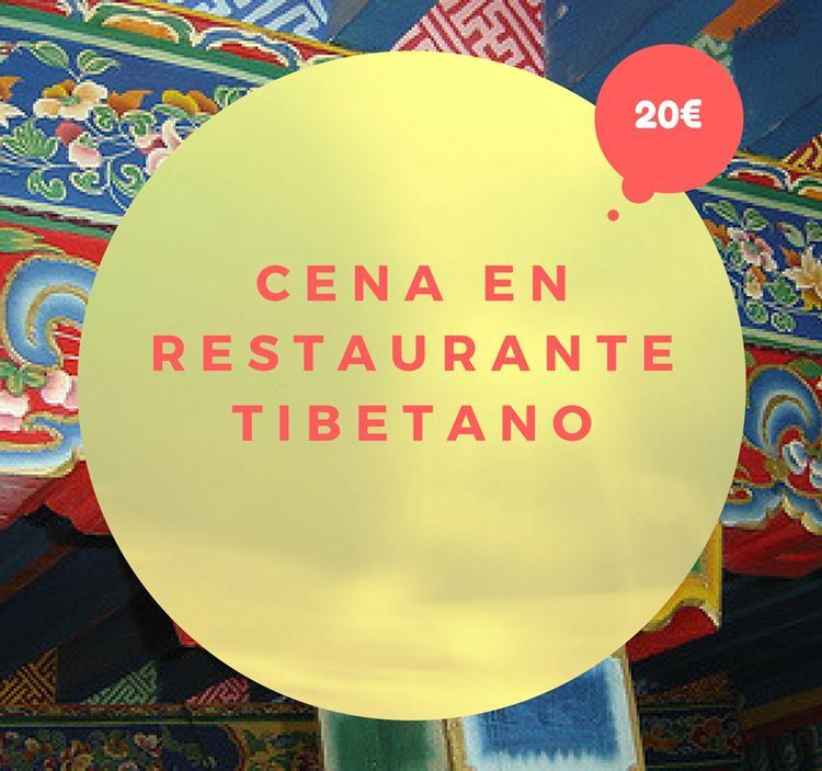 Cena en restaurante Tibetano