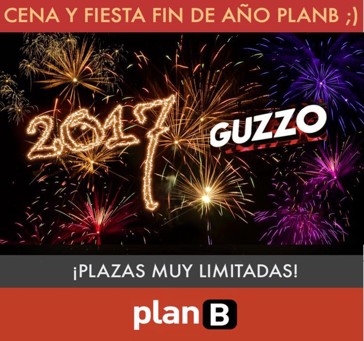 Fiesta cena y fiesta de fin de a o planb 2016 uolala - Cenas para fin de ano ...