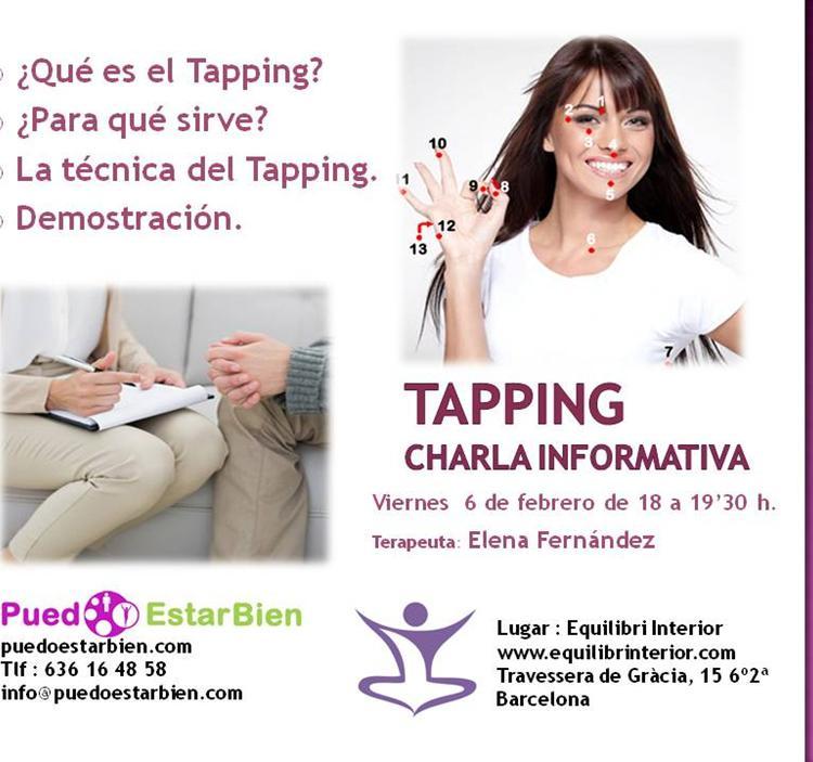Charla sobre Tapping en Barcelona