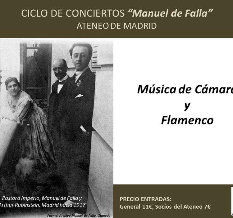 """Ciclo de conciertos """"Manuel de Falla"""""""