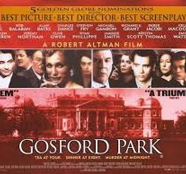 """CINE: """"Gosford Park"""" (V.O.S.E.)"""