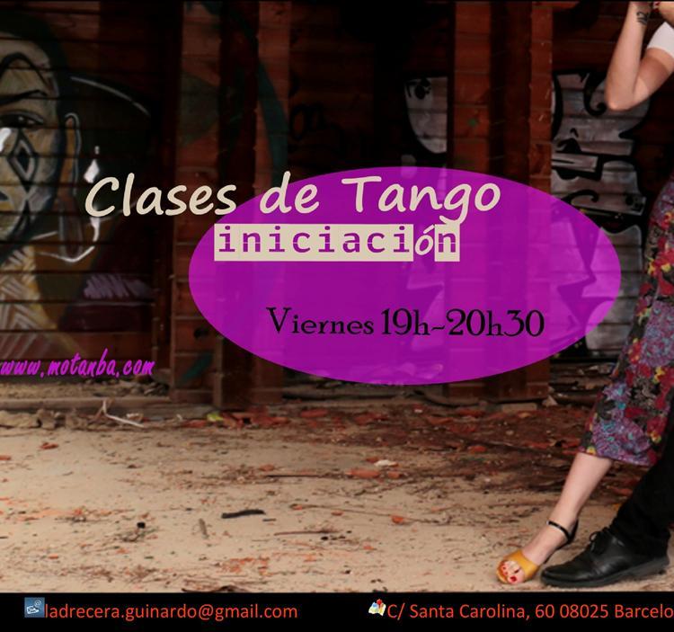 Clase Abierta De Iniciación Al Tango