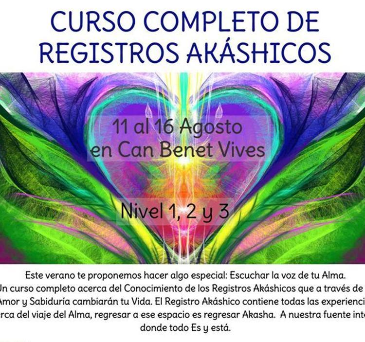Curso completo de Registros Akashicos este Verano