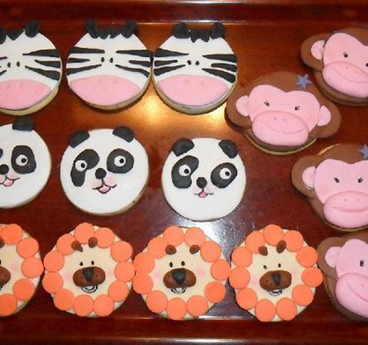 Curso de galletas decoradas con fondant