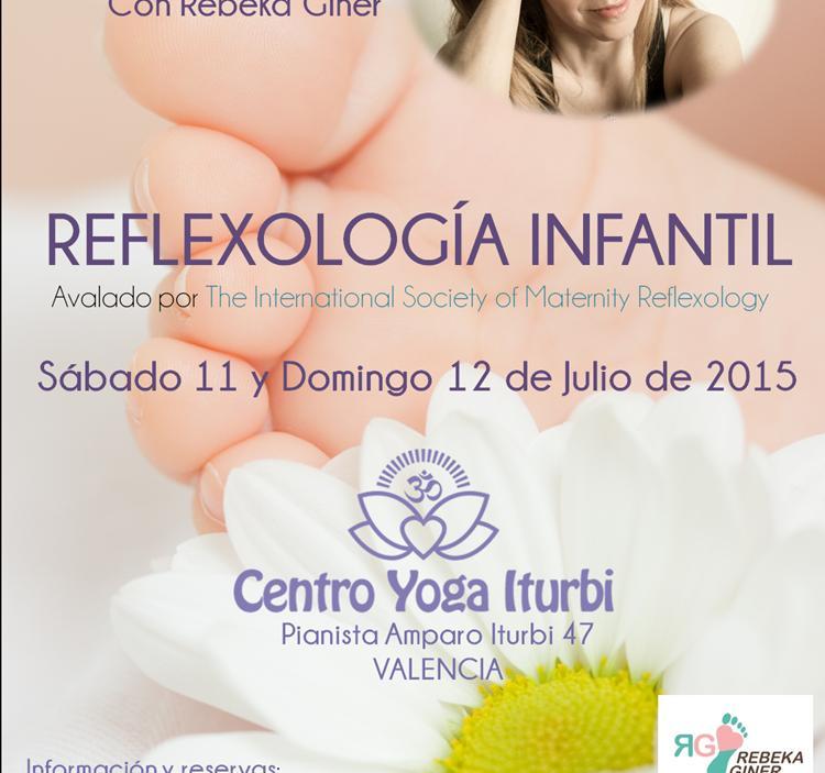 Curso de reflexología infantil para profesionales