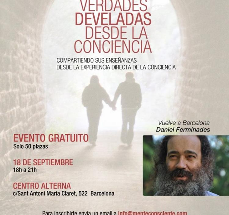 Conferencia: Daniel ferminades en barcelona