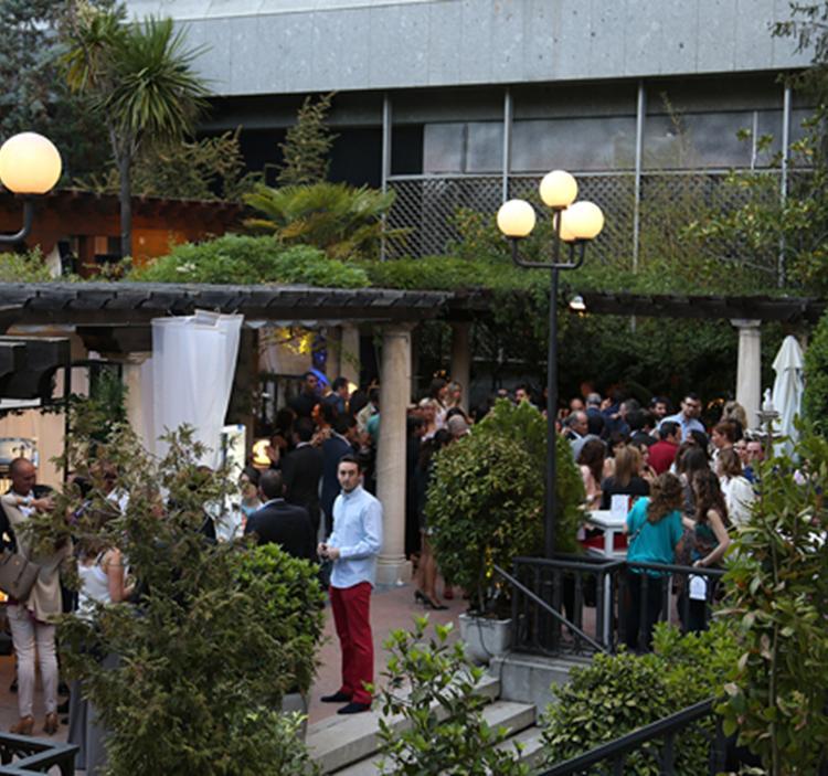 Degustación de vino y jamon en hotel Miguel Angel