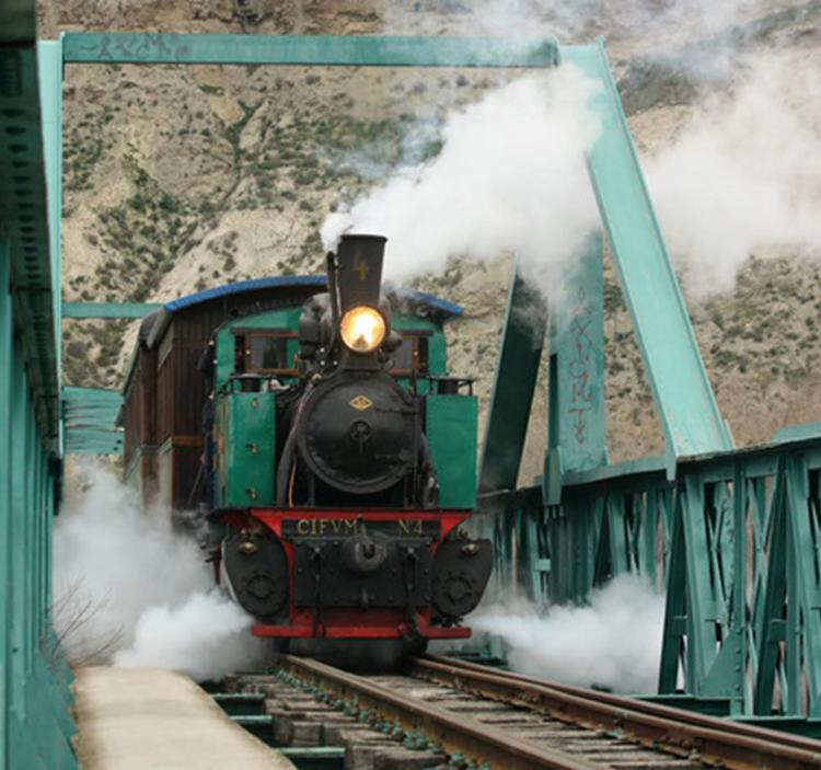 Visita guiada el tren de arganda que pita m s que anda - Que ver en arganda del rey ...