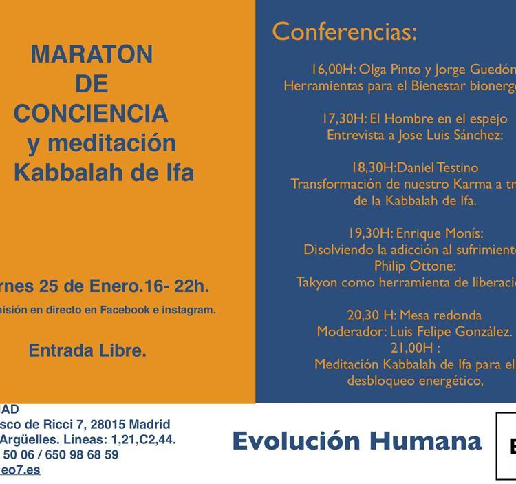 EO7 /MAD: MARATON DE CONCIENCIA