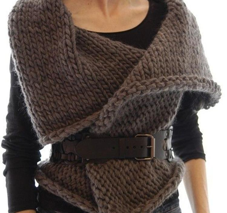 Taller aprende a tejer un chaleco de lana en 2 clases uolala - Lana gruesa para tejer ...