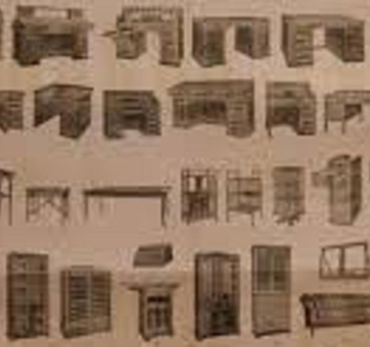 Historia del mobiliario:de Egipto al s.XIX
