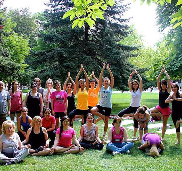 Iniciacion a yoga en el retiro