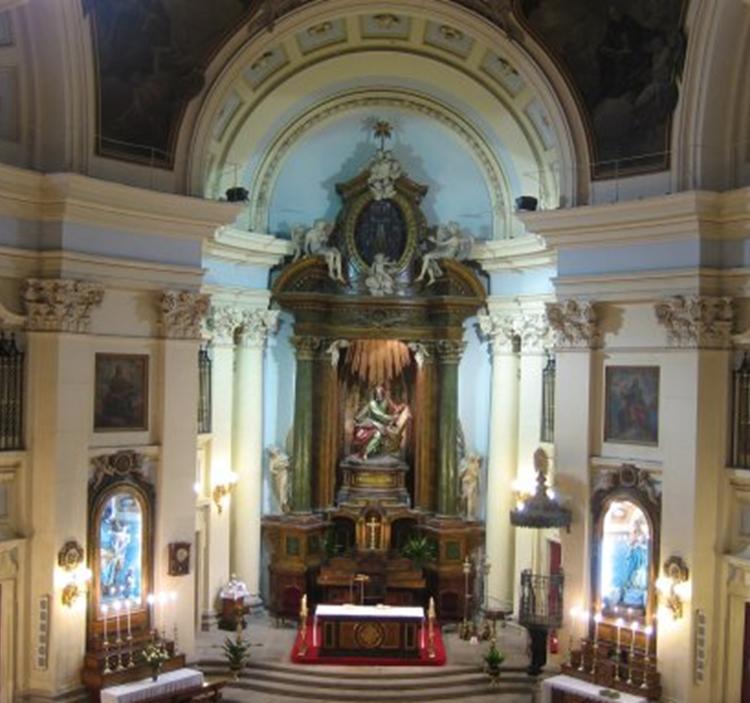 Una joya del barroco italiano en madrid uolala for Puerta 3 de san marcos