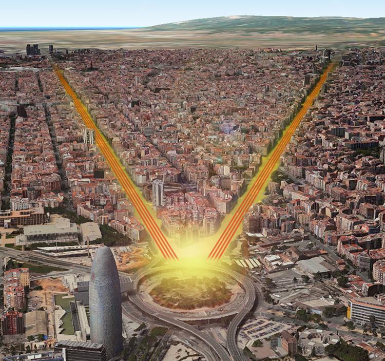 La Via Catalana en marxa nòrdica