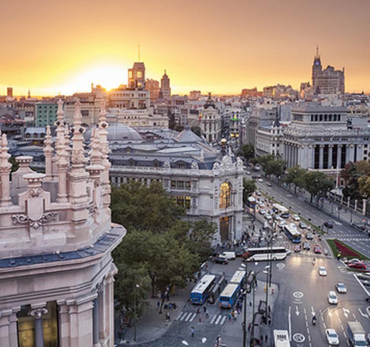 Visita guiada: Madrid desde el cielo