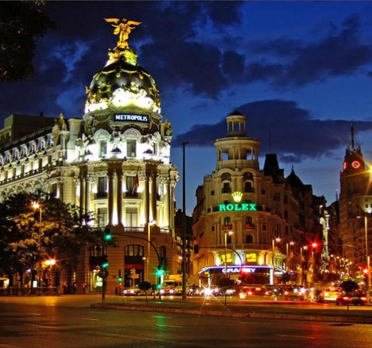 Madrid iluminado