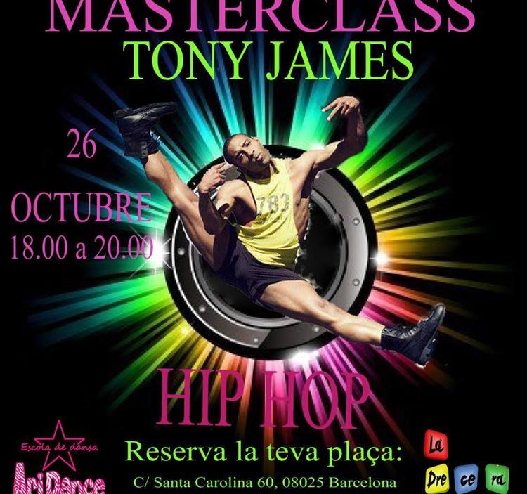 Masterclass con Tony James en Barcelona