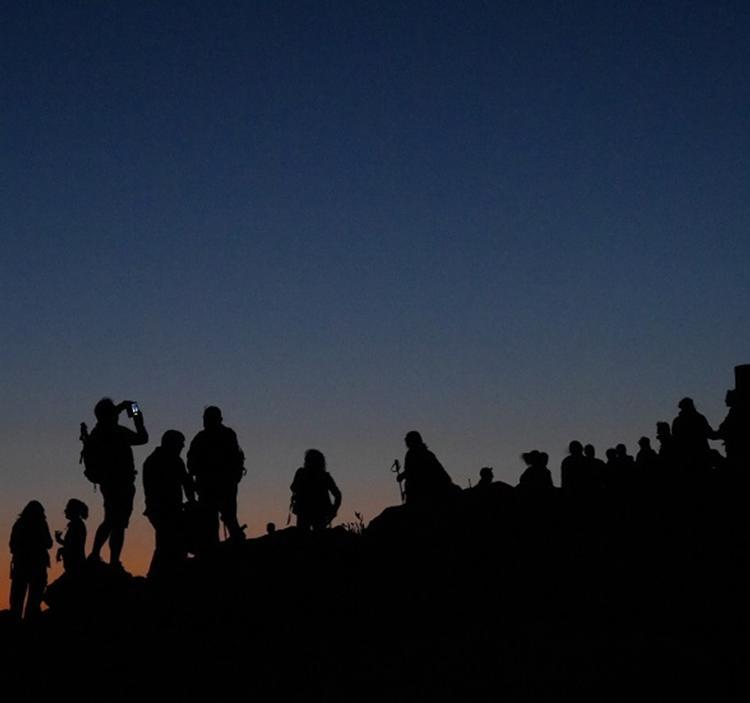 Noche de observación OVNI y vivac