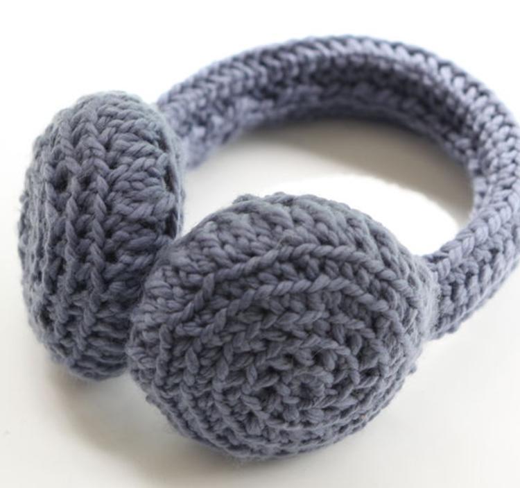 Famoso Patrón De Crochet Orejera Ornamento - Manta de Tejer Patrón ...