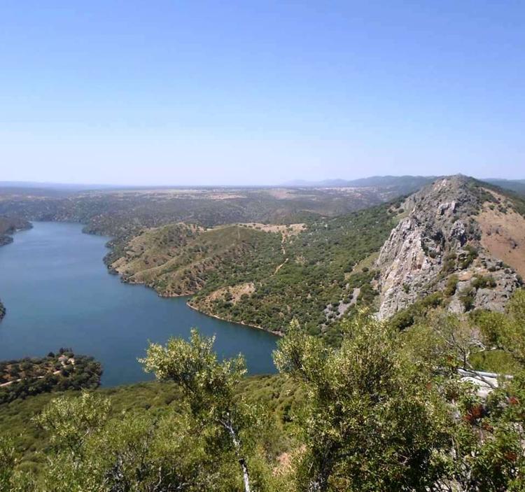 Excursión: Parque nacional de montfragüe, el salto del gitano