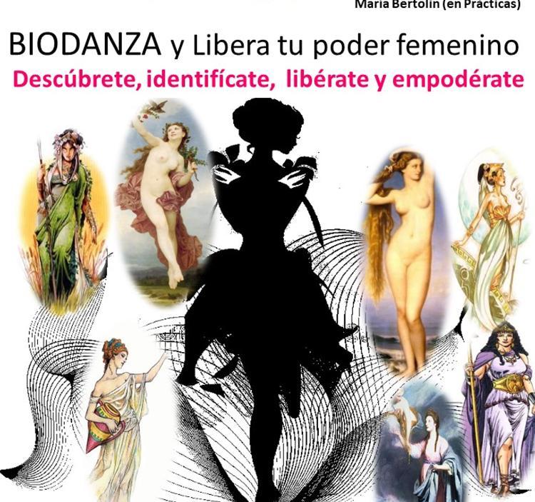 BIODANZA y Libera tu poder femenino