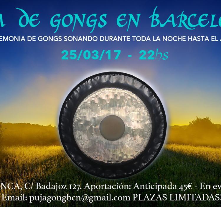 Concierto: Puja de gongs en barcelona
