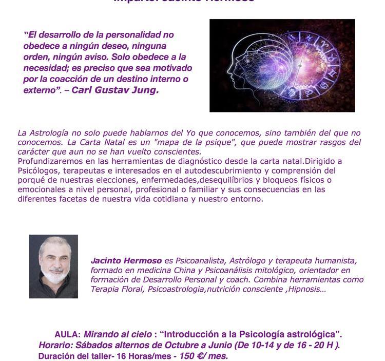 QUE ES LA PSICO ASTROLOGIA  /JACINTO HERMOSO