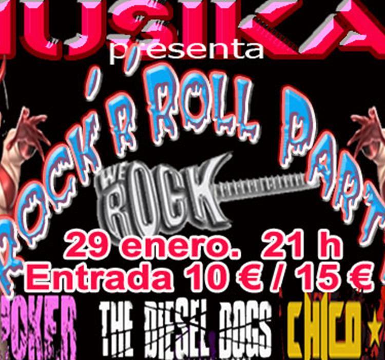 Concierto: Rock and roll party