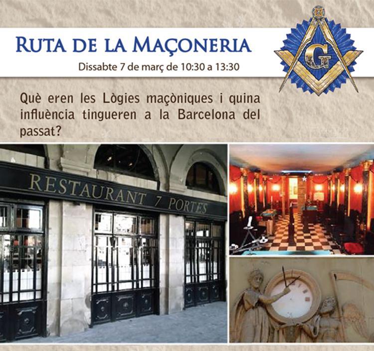 Ruta de la Masonería en Barcelona