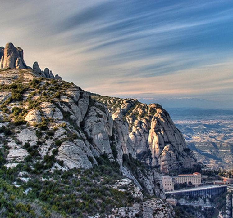 Ruta del Grial en Montserrat
