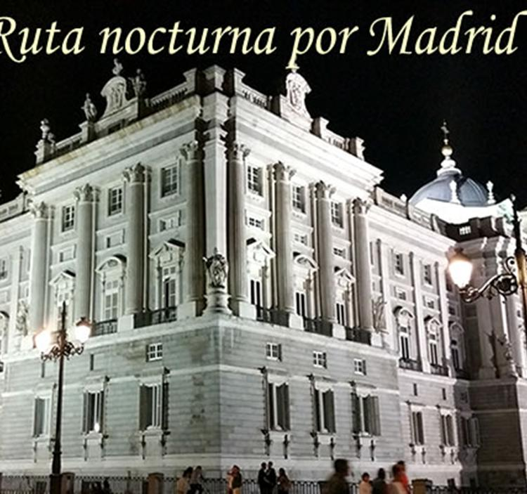 Ruta nocturna por Madrid