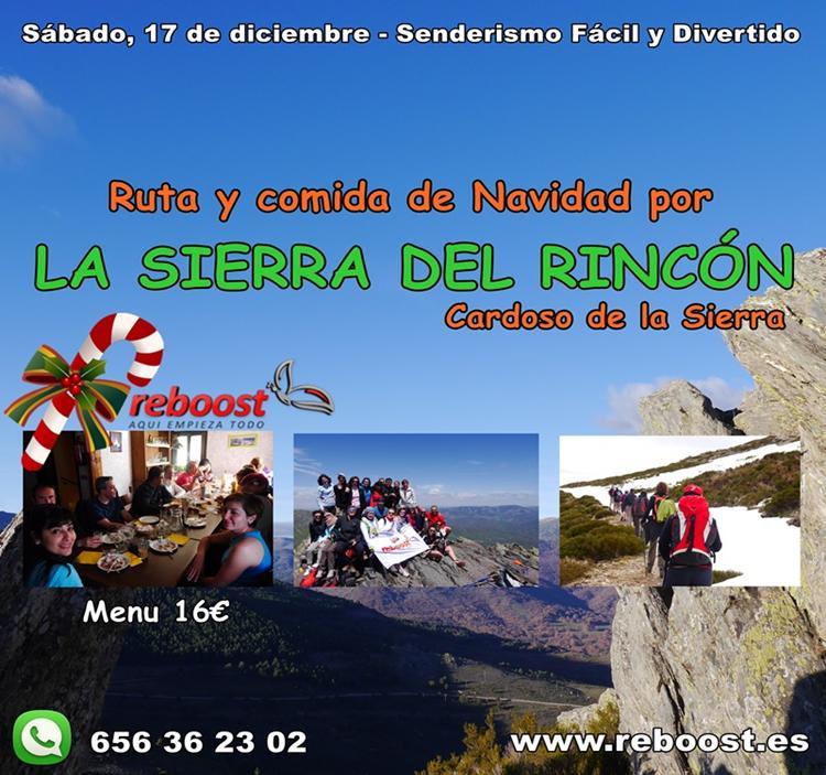 Excursi n ruta y comida de navidad en la sierra del rinc n Ruta de la navidad 2016