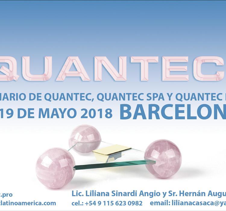 Seminario de QUANTEC PRO® y QUANTEC SPA BARCELONA