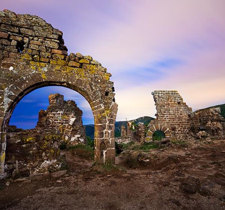 Senderismo en Gavá, el Castell d´ Eramprunyà