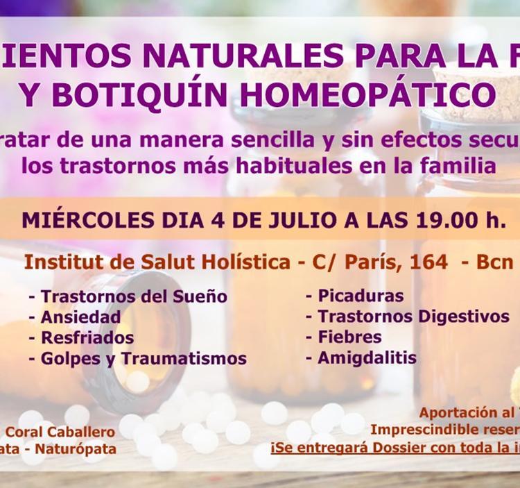 Taller práctico de Homeopatía