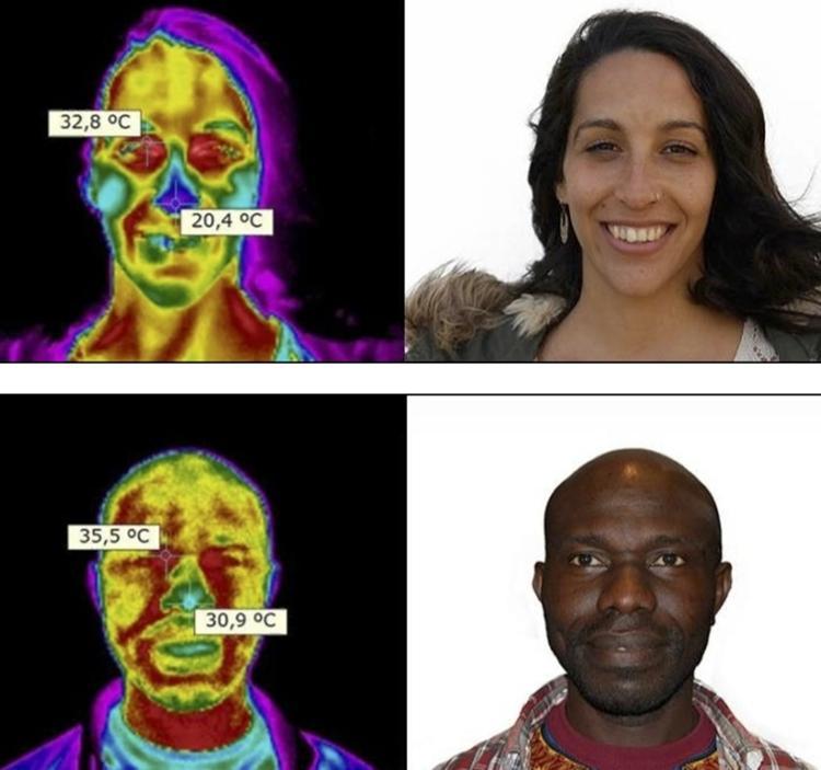 """Taller termografía: """"DESCUBRIENDO AL SER HUMANO"""":"""