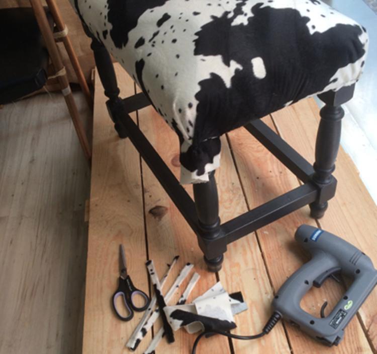 Taller tapicer a con goma espuma en tres sesiones uolala - Goma espuma para sillas ...