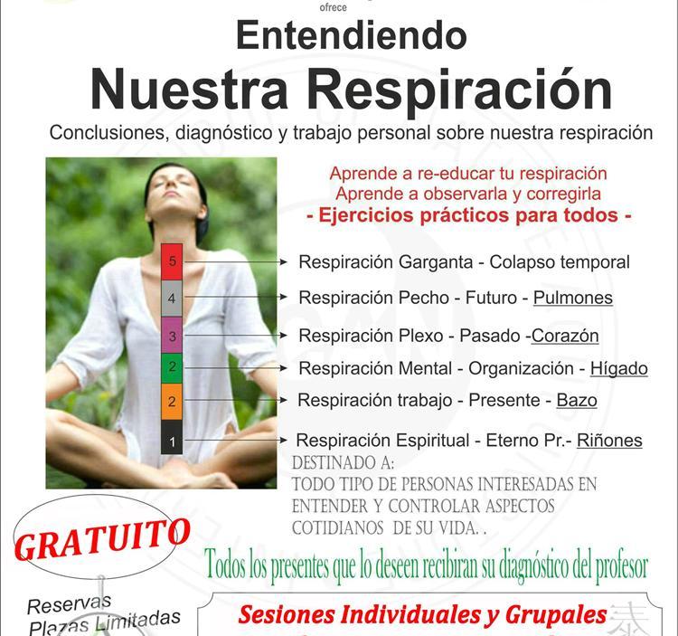 Terapia: Diagnostico acupuntura ysesion respiracion natural