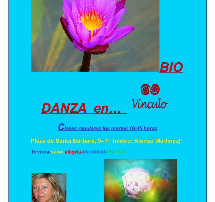 Todos los Martes a las 19.45horas hacemos Biodanza