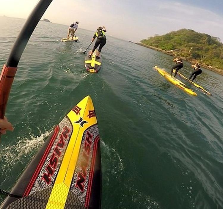 Travesía iniciación al Paddle Surf en el Atazar