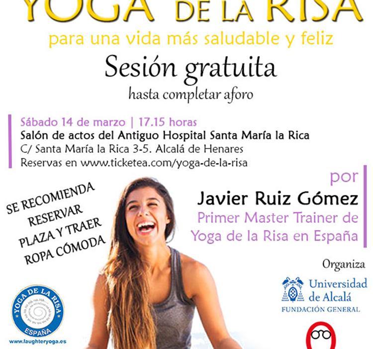 Yoga de la risa sesi n gratis en alcal de henares uolala for Aprender a cocinar en alcala de henares