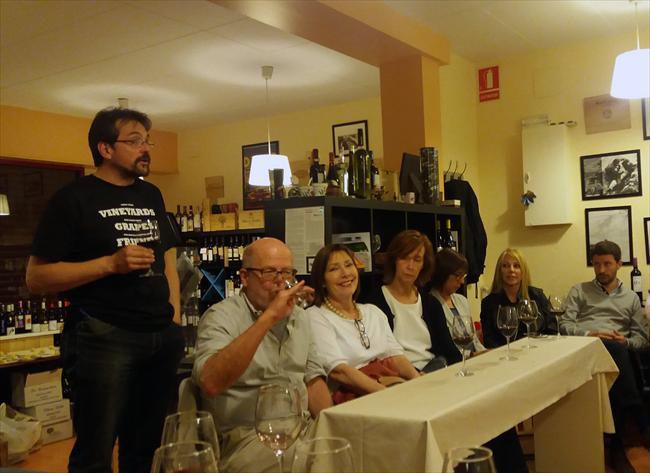 Cata de vino y tapas en Sant Gervasi (18290)