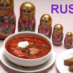 Cena en restaurante ruso - 0
