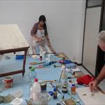 Pintura decorativa y reciclado 4/5 clases al mes - 1