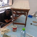 Pintura y reciclado rápido 4clases 12hs al mes 55€ - 5